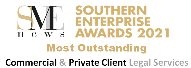 Award for Broomhead & Saul solicitors most outstanding commercial & private client legal services